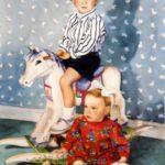 """Siblings 24"""" X 36"""" Watercolor on paper"""