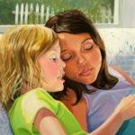 """Reading together 16"""" X 24"""""""