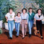 """Family 55"""" X 72"""" Acrylic on canvas"""