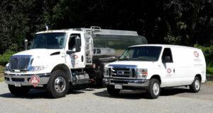 Oil Delivery & Oil Burner Service Trucks Cox Fuel Co., Inc. Lowell Ma