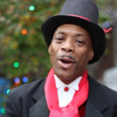 The Holiday Singers' Kevin Jones