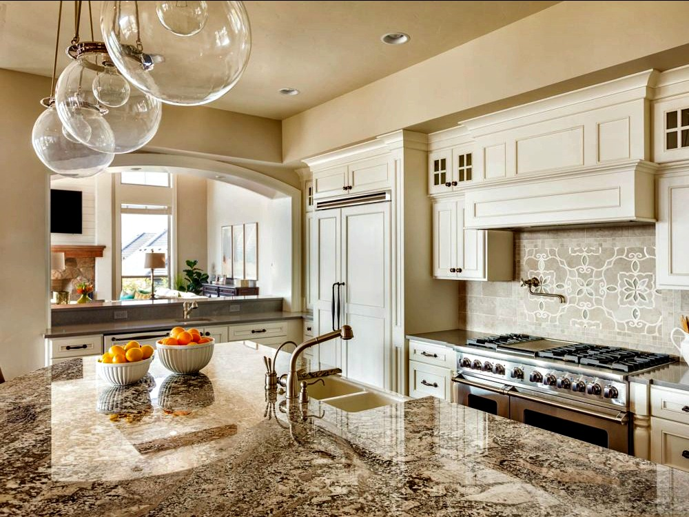 stone countertop cleaning