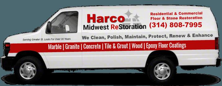 harco midwest restoration truck wrap