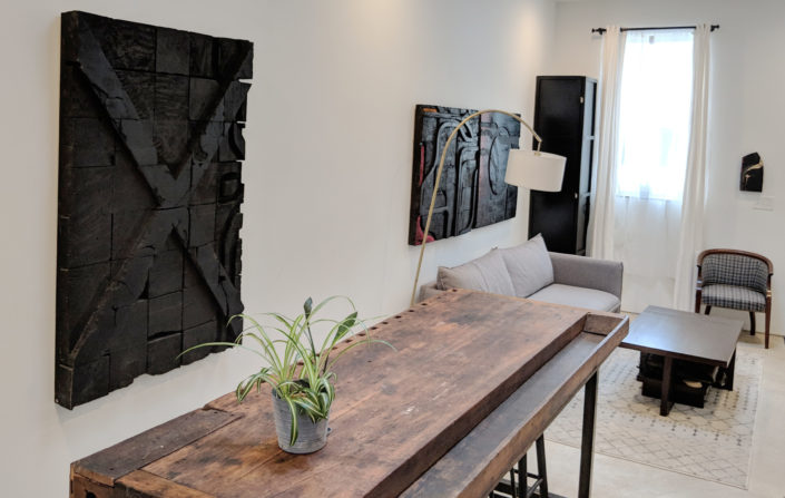 E1507 life with art, dining room and Mark Eisendrath