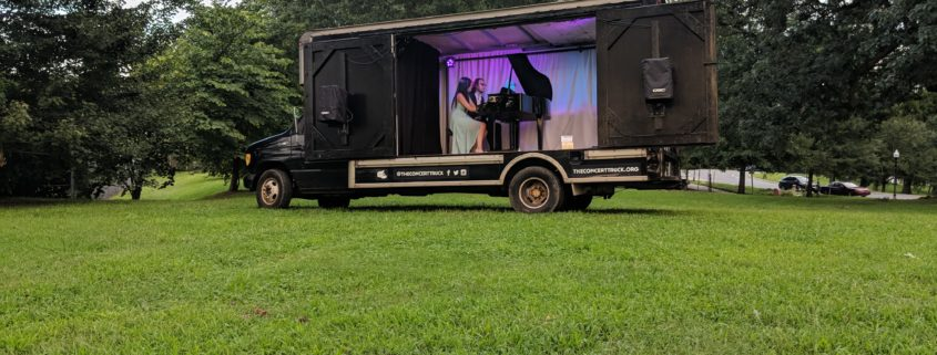 Burkholder Agency Client the Concert Truck at Druid Hill