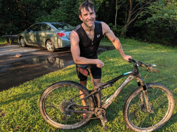Scott Burkholder post MTbike Ride