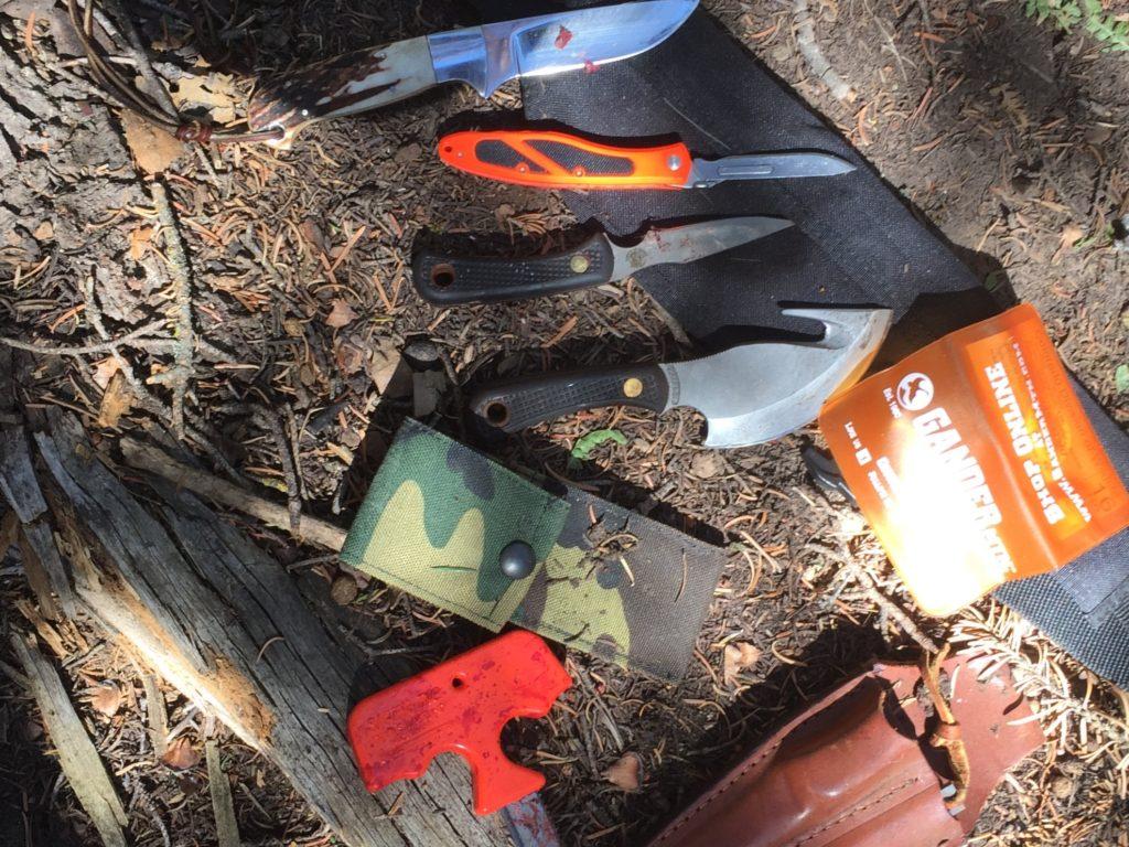 Elk Hunting Knives