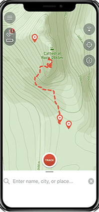 Bivystick location tracker
