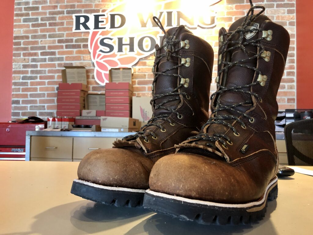 Boots at Red Wing Show Store