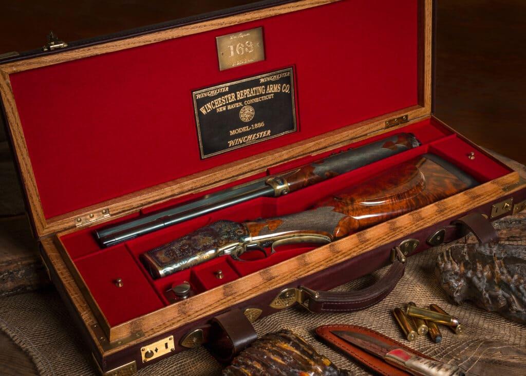 Tom Selleck's custom Winchester 1886