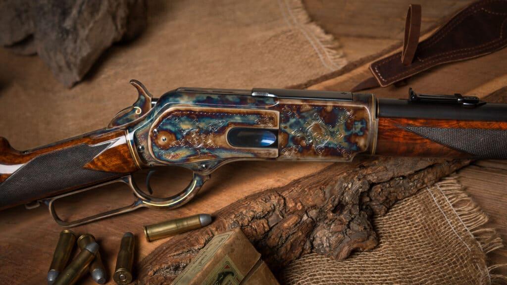 Winchester 1876 restored by Turnbull Restoration