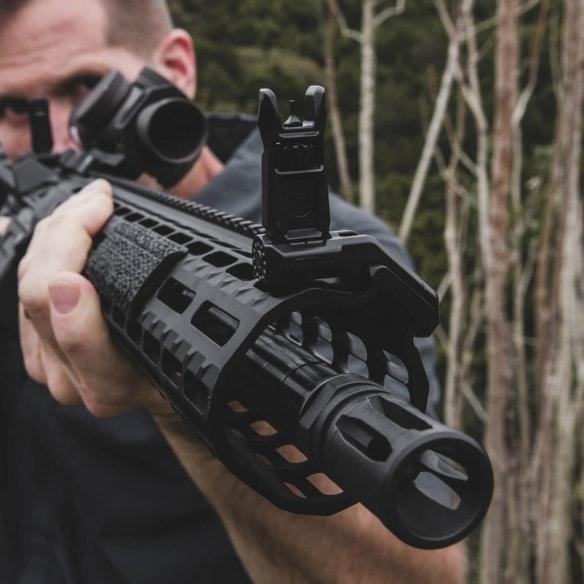 Magpul offset Iron sights