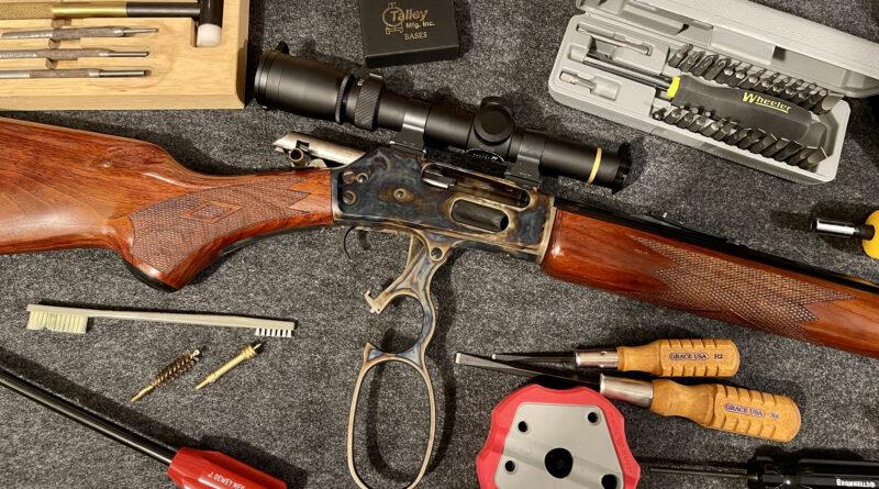 Marlin Rifle and gunsmith tools