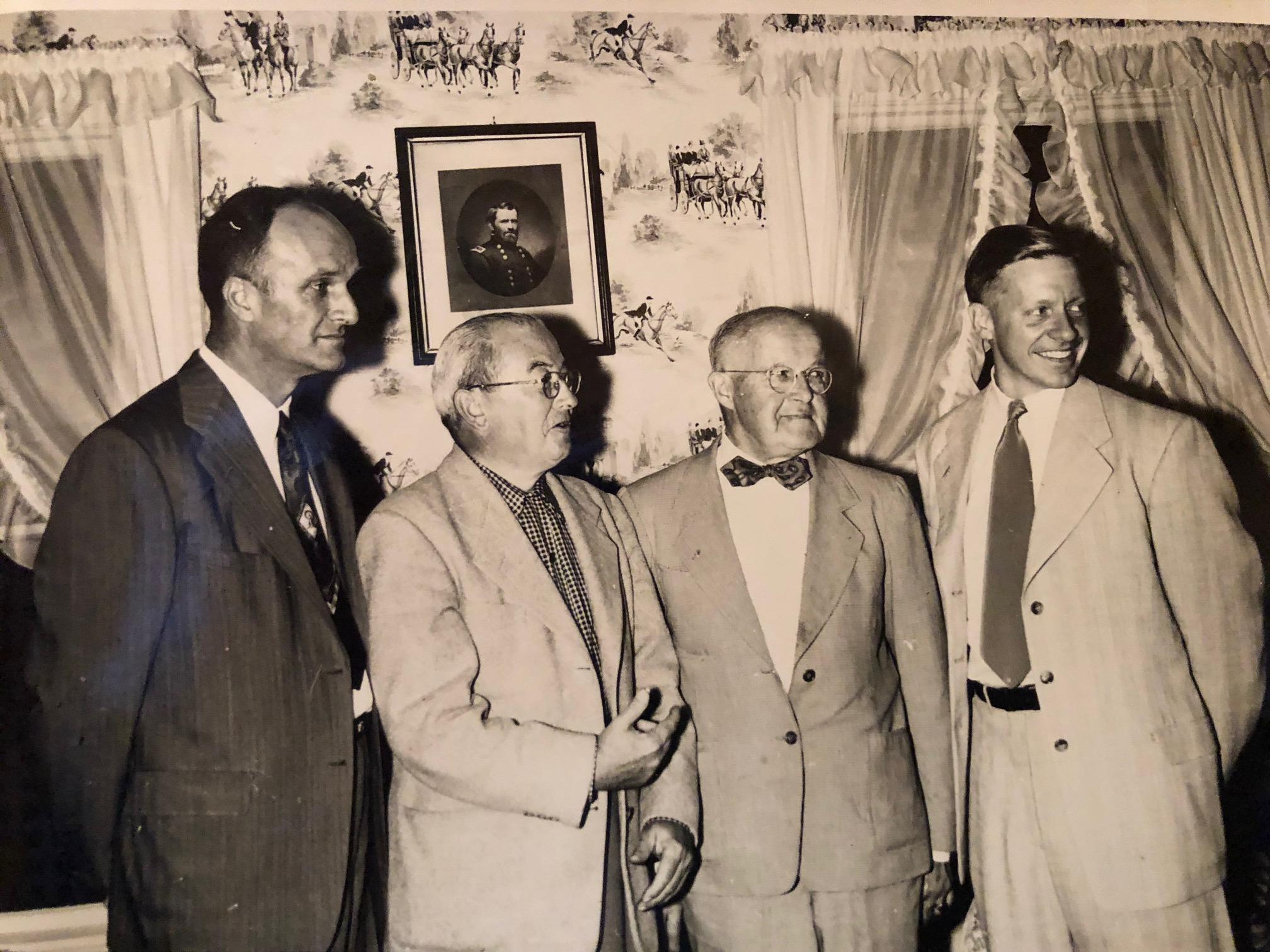 LRA Officers Lindley Robinson, Howard Fletcher, <br/>Jay Archibald, and Donald Ellison (President)