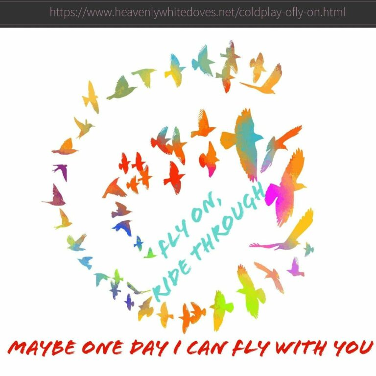O (Fly On) by Coldplay