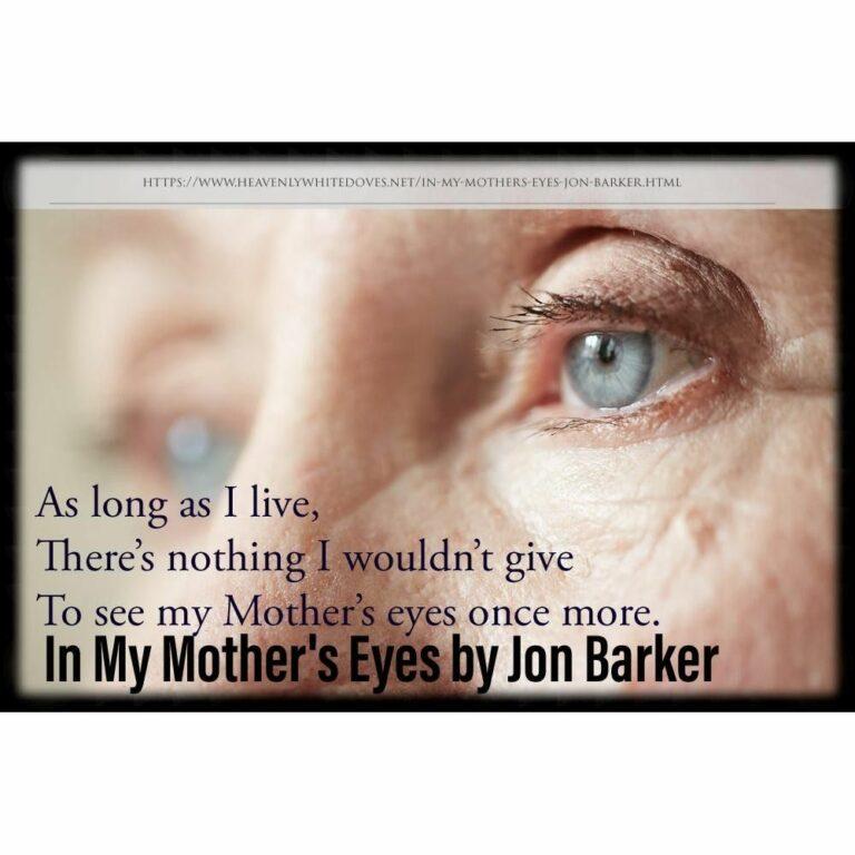 In My Mother's Eye's by Jon Barker