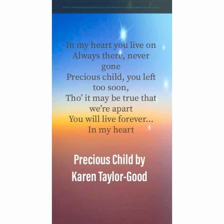 Precious Child by Karen Taylor-Good