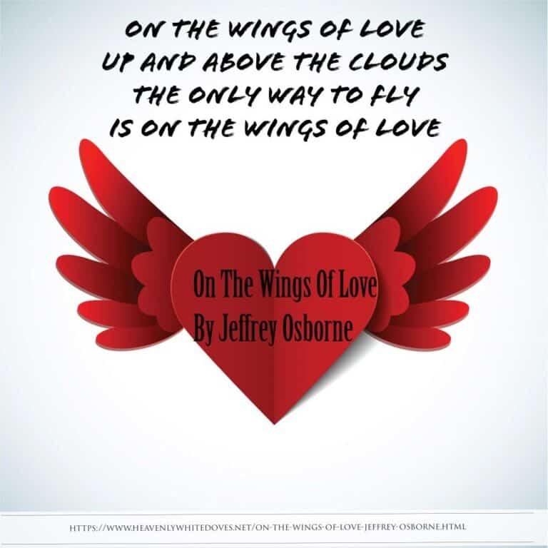 On The Wings Of Love by Jeffrey Osborne