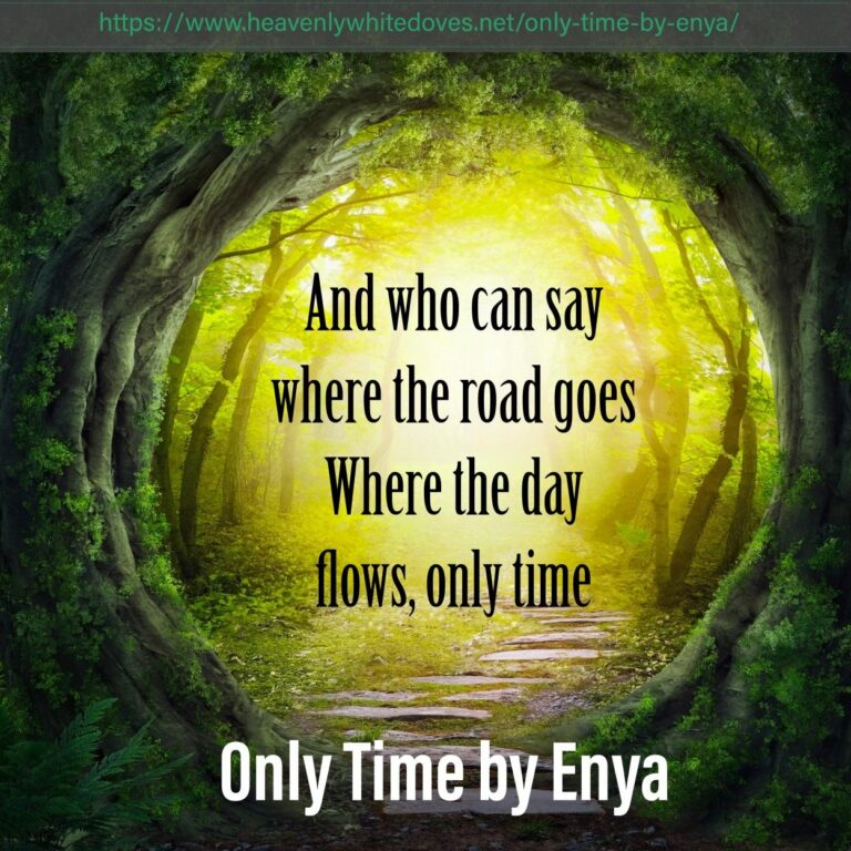 Only Time by Enya