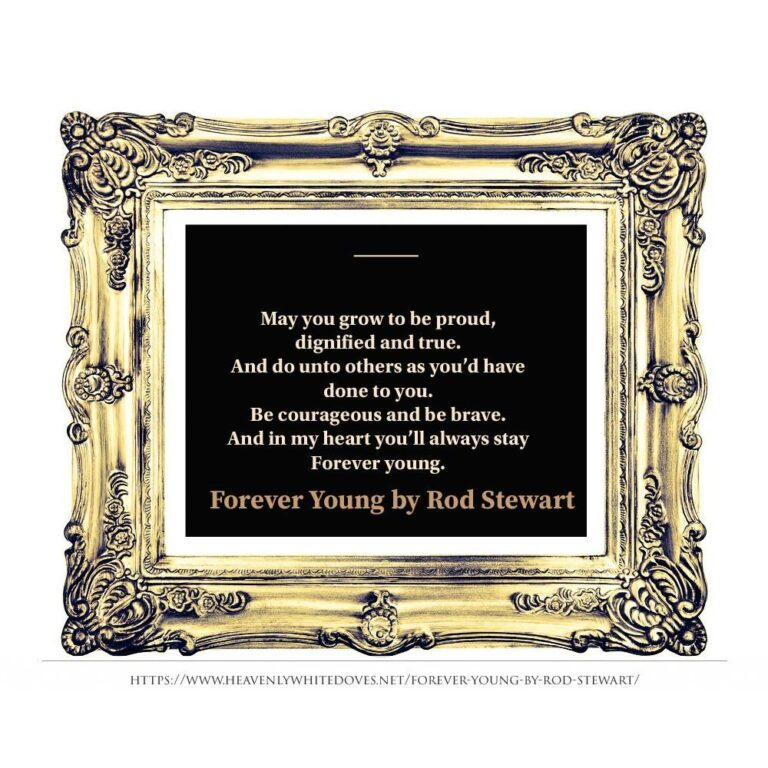 Forever Young by Rod Stewart