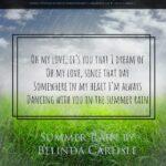 Summer Rain by Belinda Carlisle