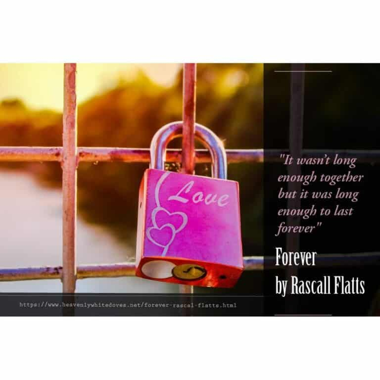 Forever by Rascall Flatts