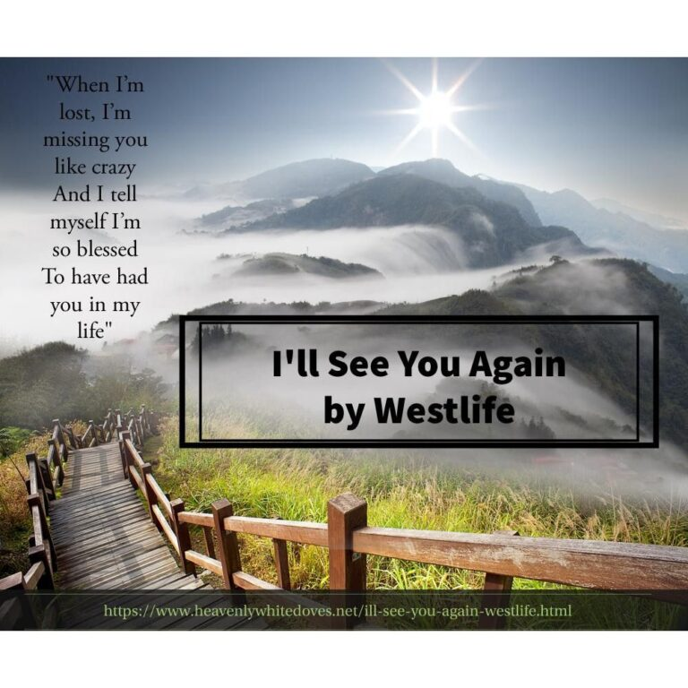 I'll See You Again by Westlife