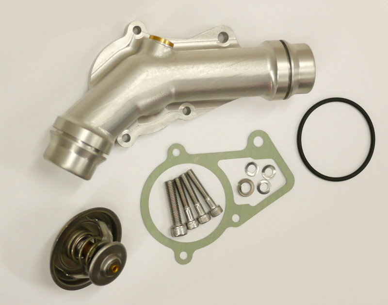 BMW M54 Competition Anodized Thermostat Plate Kit