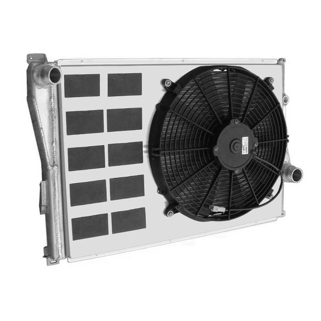 BMW E46 M3 Competition Cooling Kit with Offset Fan (1999-05)
