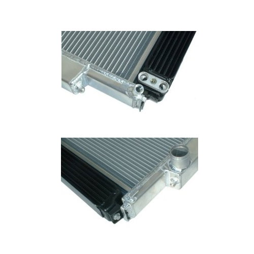 BMW E36 Aluminum Radiator with Integrated Oil Cooler Kit