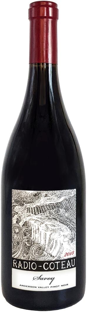 2018 Radio-Coteau Savoy Pinot bottle