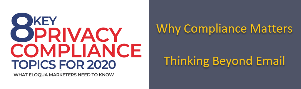 Key Privacy Compliance Topics for 2020: Part 1 1