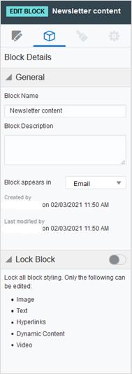 eloqua content blocks, eloqua, eloqua marketing