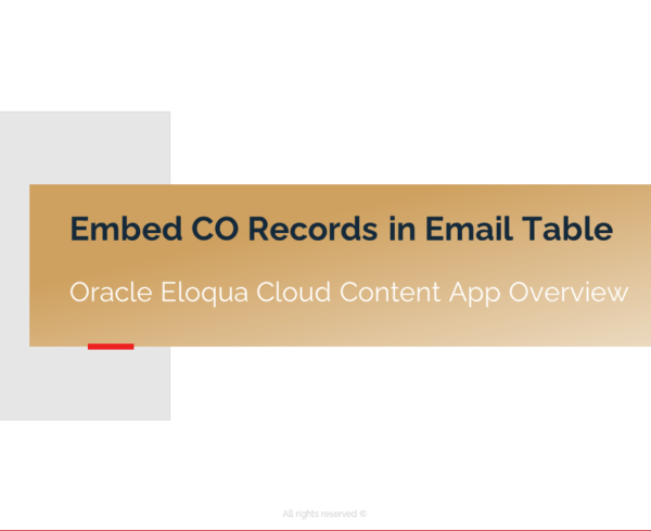 Introducing the Embed CO Records in Email Table Cloud App 2
