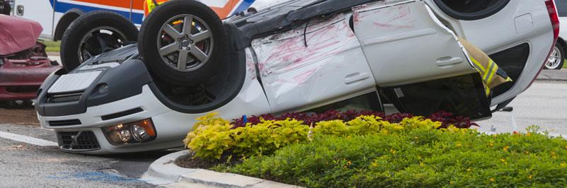 Dangerous roadways accident