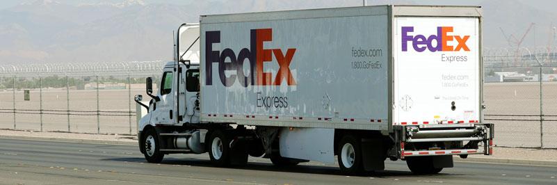 Fedex truck accident