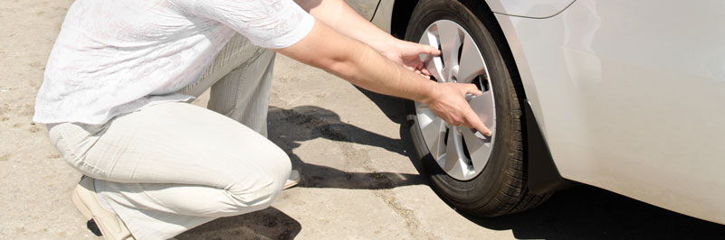 Tire defect accident