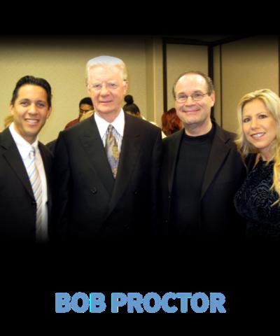 Dave & Yvette Ulloa with Bob Proctor