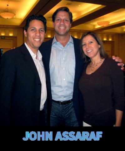 Dave & Yvette Ulloa with John Assaraf