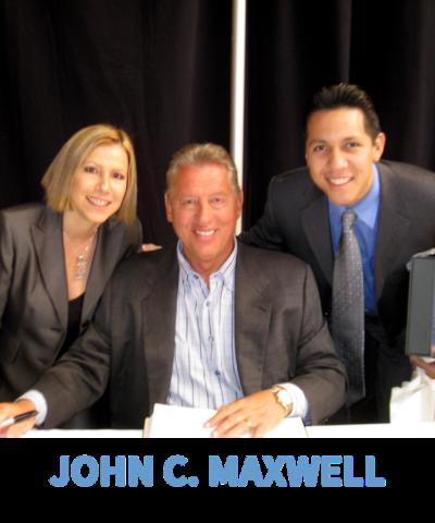 Dave & Yvette Ulloa with John C. Maxwell