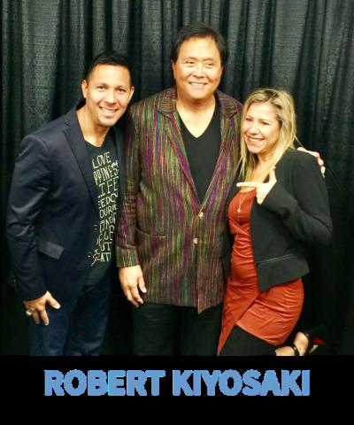 Dave & Yvette Ulloa with Robert Kiyosaki