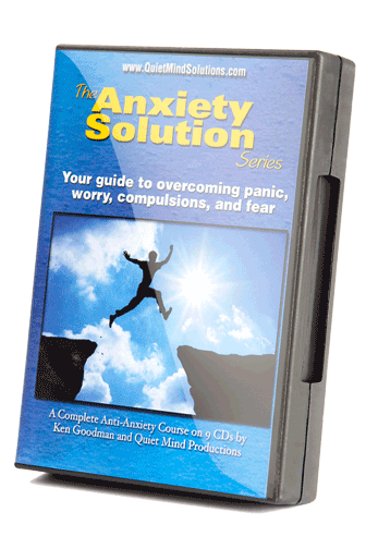 Anxiety solution series DVD