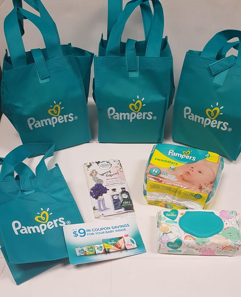 pampers gift bag