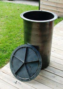 Waste liner mold