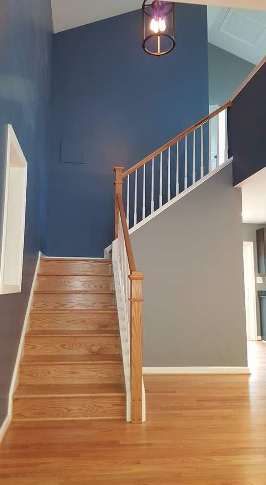 HOME ADDITION STAIRS