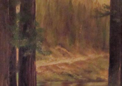 Majestic Forest Thomas Moran