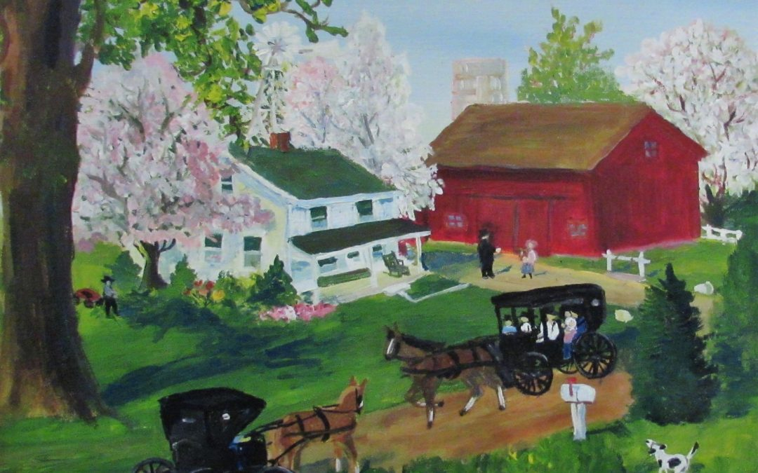Folk Memories: The Paintings of Emma Schrock