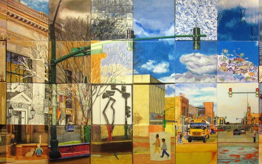 Mural commemorates museum's 40th Anniversary