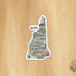 Hike NH Sticker