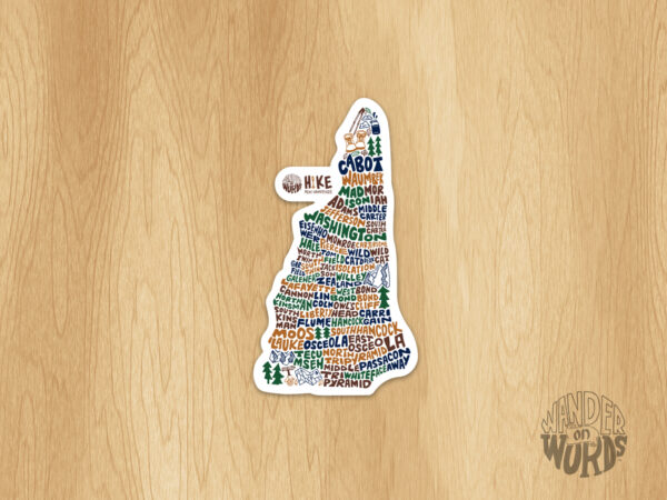 Hike NH Sticker